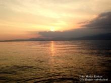 Der Gardasee bei Cisano.