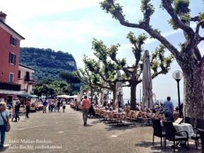 Die Strandpromenade von Garda. Mai 2016