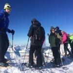 Schneeschuhwandern auf der Zugspitze