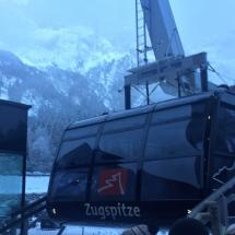 die neue Zugspitzbahn in Grainau
