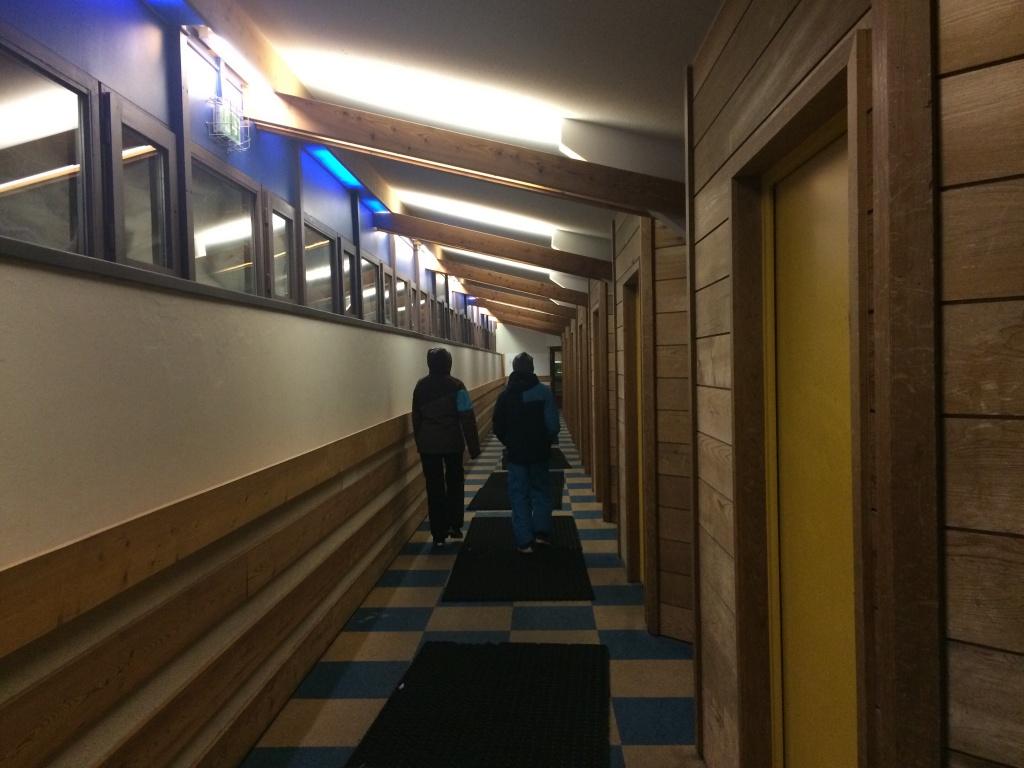 öffentlicher Gang für die Touristen in Avoriaz