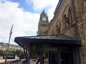 Metz im Sommer 2018 - der Hauptbahnhof