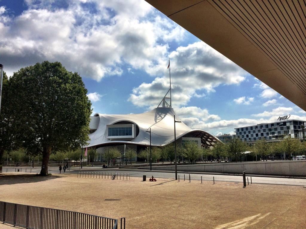 Metz im Sommer 2018 - das Centre Pompidou
