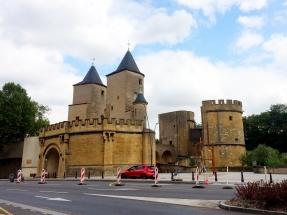 Metz im Sommer 2018 - das Deutsche Tor
