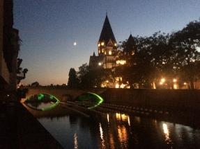 Metz im Sommer 2018 - Abendstimmung