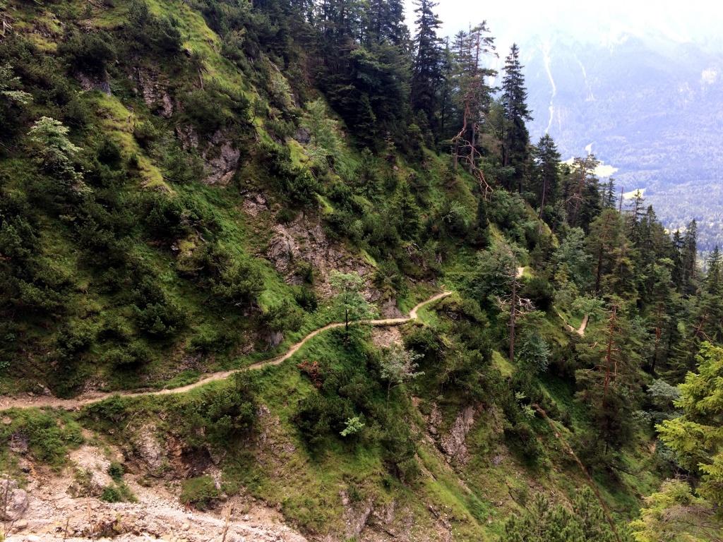 Wanderweg zur Stepbergalm